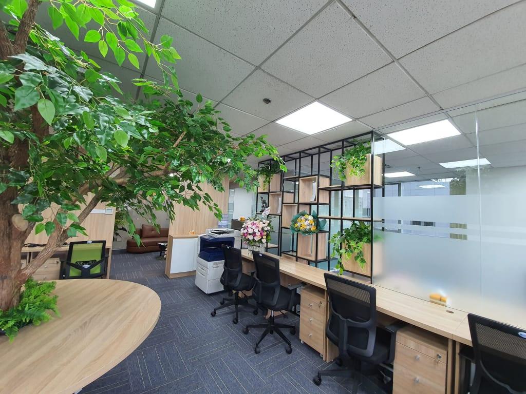 Cho thuê văn phòng và chỗ ngồi làm việc tại Cầu Giấy, Hà Nội